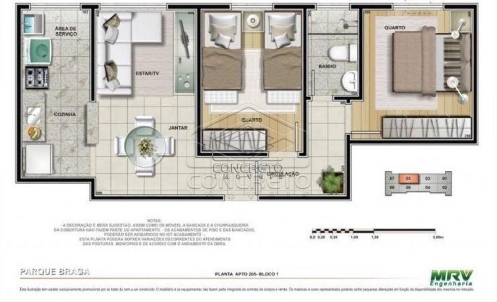 Comprar Apartamento / Padrão em Botucatu R$ 128.000,00 - Foto 1
