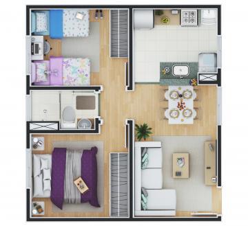 Apartamento / Padrão em Botucatu , Comprar por R$155.000,00
