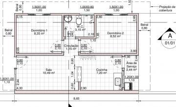Alugar Casa / Padrão em Bauru. apenas R$ 159.980,00